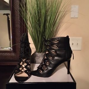 Nine West NWLeslie Black Heels